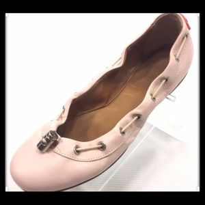 Hunter flats size 7.5 in ballet pink